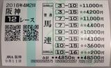 阪神12R馬連