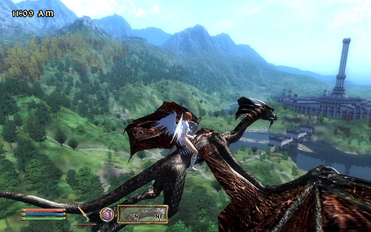 ravensのにっき oblivion ドラゴンに乗って livedoor blog ブログ