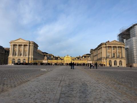 Palais de Versailles entrance