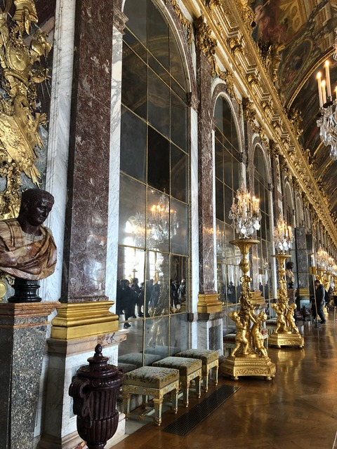 Palais de Versailles mirrors