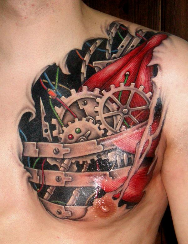 3D-Heart-Tattoo