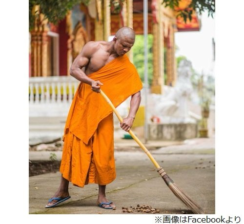 ガチムチ過ぎる僧侶が話題wwwwwww