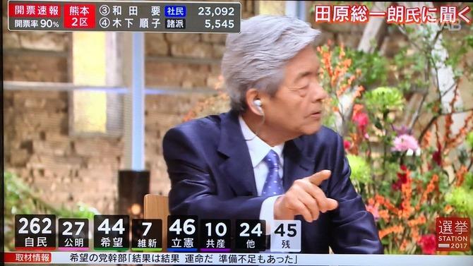 田原総一朗氏、選挙特番で視聴者意見に激怒!!!!