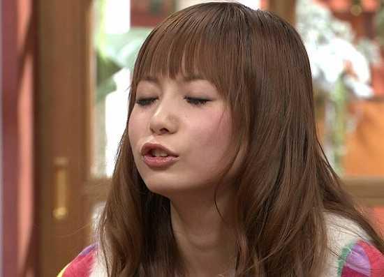 中川翔子さんのあご