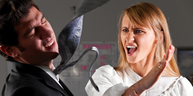 【衝撃】女子がブチギレした理由wwwwwwwww