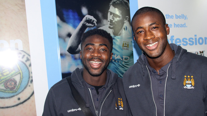 Yaya and kolo wolves