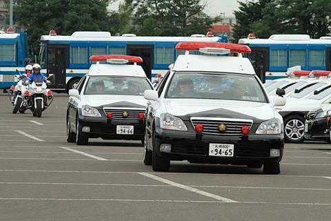 北海道-パトカー