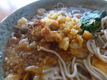 かわい庵@大森台(4)干麺そば(ふし)60