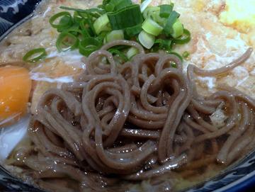麦の城@大森 (4)天ぷらそば410玉子60