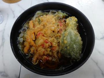 大和屋@中延(4)天ぷらそば380ピーマン60