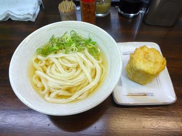 おにやんま@青物横丁 (2)冷やかけ300トウモロコシの天ぷら120