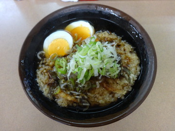 えびすや@横須賀中央(2)天ぷらそば400ゆで玉子50