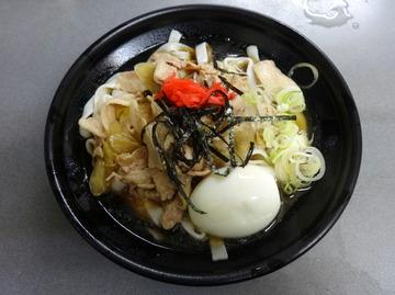 あさま@平和島(4)冷やし肉なんきしめん440ゆで卵追加60