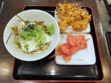 おにやんま@青物横丁(5)とろネバ600紅生串130野菜かき150