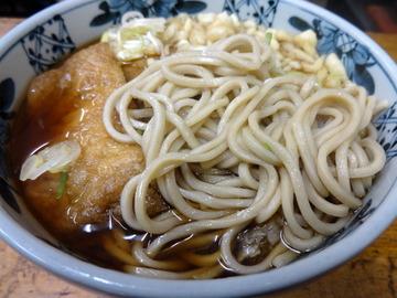 山田製麺所@入谷(4)かけそば260たぬき50きつね80生玉子50