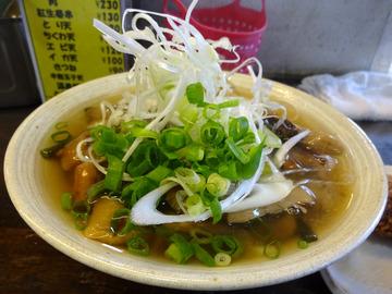 おにやんま@青物横丁 (5)山菜きのこ生姜あん並600牡蠣コロ180