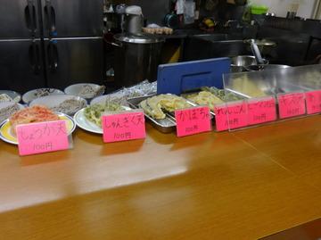 銀座堂@上尾(1)鳥肉そば420ごぼう天100半カレー270