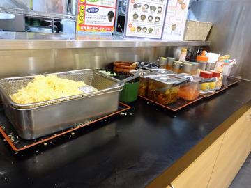 ゆで太郎芝浦4丁目店@三田 (4)夏野菜とゲソのかき揚げそば520