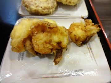 おにやんま@青物横丁(5)なす山菜ひやかけ600丸さつま200新玉ねぎ150