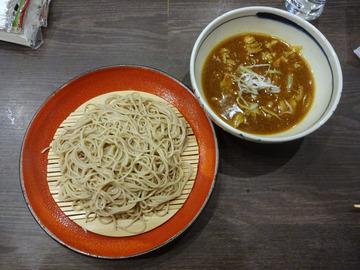 20171005蕎麦BAR HATARI@住吉 (25)カレーそばルー別880