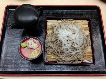 遊神館@奥平温泉 (6)絹そば(だいこんそば)780