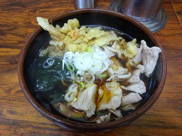 大年@鹿島田 (2)肉そば410たぬき60なぜか430