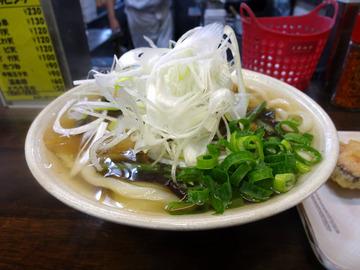 おにやんま@青物横丁 (5)山菜きのこ生姜600厚切ベーコン130