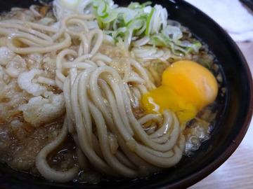 信濃路@平和島 (5)たぬきそば270生卵50