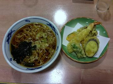 望郷@沼田 (6)天ぷらそば850ざるそば570山菜そば750