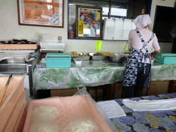 田村製麺@前橋市(4)天ぷら付弁当並305モロヘイヤ・ニンジン