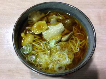 望郷@沼田 (8)天ぷらそば850ざるそば570山菜そば750