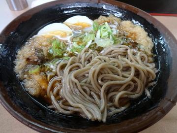 えびすや@横須賀中央(3)天ぷらそば400ゆで玉子50