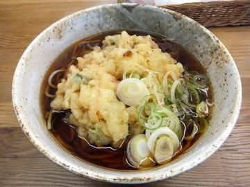 むさしの@鷺ノ宮(9)カレーライスセット天ぷらそば(やさい)620