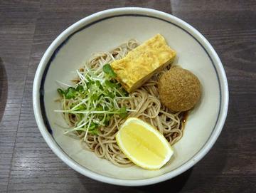 20171005蕎麦BAR HATARI@住吉 (30)胡麻酢そば880