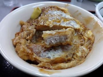 山田うどん多摩大橋店@小宮(8)煮込みソースかつ丼セット790