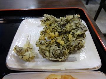 おにやんま@青物横丁(5)冷かけ300大根生姜はさみ130もずく150