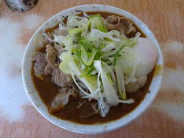 南天@椎名町 (5)肉カレーそば480