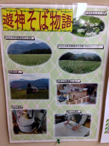 遊神館@奥平温泉 (11)絹そば(だいこんそば)780