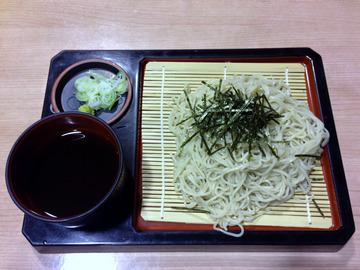 望郷@沼田 (7)天ぷらそば850ざるそば570山菜そば750
