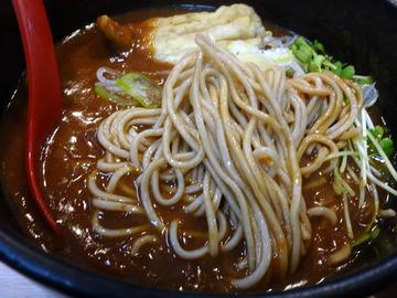 白樺@武蔵小金井 (7)カレー南蛮そば470白飯160