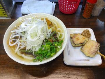 おにやんま@青物横丁 (4)山菜きのこ生姜600厚切ベーコン130