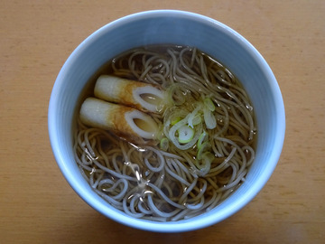 テーブルマーク@中央区 (9)麺棒一番かけそば100円前後