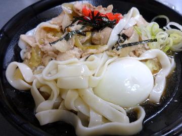 あさま@平和島(5)冷やし肉なんきしめん440ゆで卵追加60