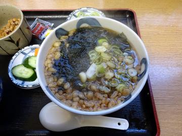 ちどり@鮫洲 (11)納豆ごはんとそばセット450