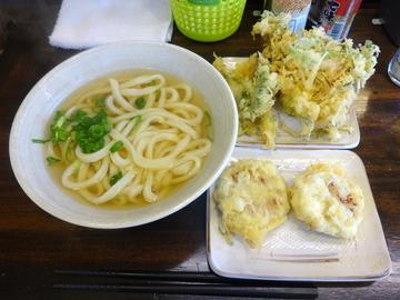 おにやんま@青物横丁(4)レンコマヨコン150水菜生ハム150