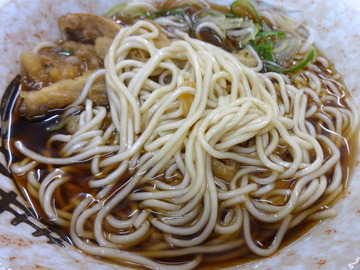 仲屋製麺所@日暮里(6)かけそば290ごぼう120