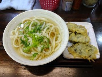 おにやんま@青物横丁 (3)温並300韓国のりの天ぷら100