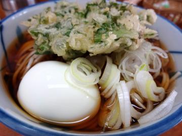 うさぎや@新橋 (5)冷かけ320春菊110ゆで卵70
