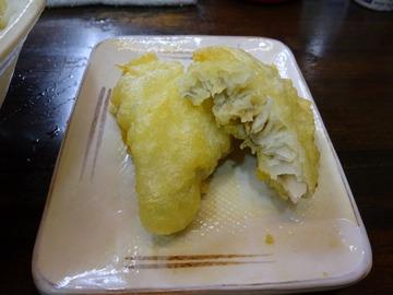 おにやんま@青物横丁 (6)茄子の煮びたし涼風うどん580ホキ天260