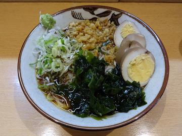 彩彩@大井町 (3)たぬきそば400冷やし100味付玉子100